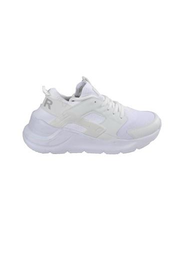 Bestof Bestof 048 Siyah-Siyah Unisex Spor Ayakkabı Beyaz